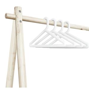 Sada 4 bielych vešiakov Karup Design Hongi White