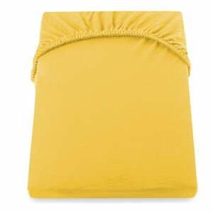 Žltá plachta DecoKing Amber Collection, 160/180 x 200 cm