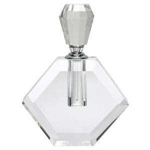Sklenený flakón na parfum Green Gate, výška 14 cm