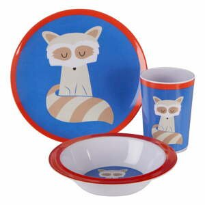 3-dielny jedálenský set pre deti s motívom medvedíka čistotného Premier Housewares