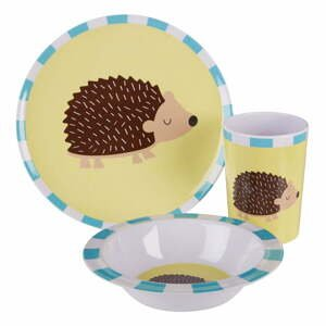 3-dielny jedálenský set pre deti s motívom ježka Premier Housewares