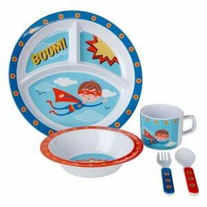 5-dielna jedálenská detská súprava Premier Housewares Super Rupert