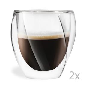 Sada 2 dvojitých pohárov Vialli Design Lora, 250 ml