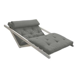 Dvojmiestna variabilná leňoška Karup Design Figo White/Grey