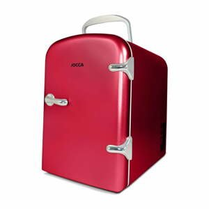 Červená prenosná chladnička JOCCA Mini