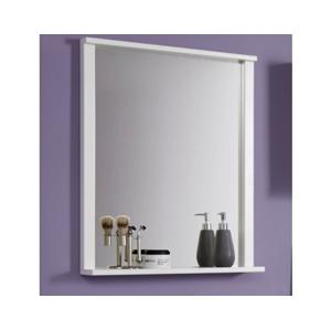 Zrkadlo s policou Orlando, biele%