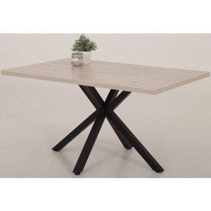 Jedálenský stôl Cleo 140x90 cm, pieskový dub%