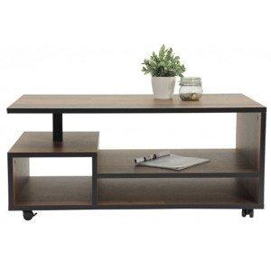 Konferenčný stolík Eike, vintage optika dreva%