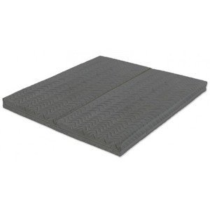 Dvojitý rozkladací matrac Duo Flexible Grey 80x200 cm - 160x200 cm%