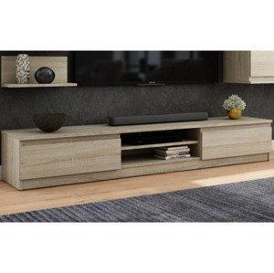 TV stolík Carlos, dub sonoma, 175 cm%