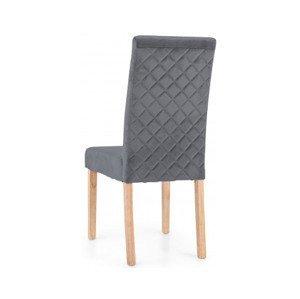 Jedálenská stolička Tempa, šedá látka%