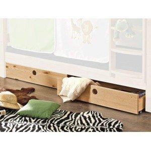 Sada úložných zásuviek pod posteľ (2 ks) Eddie%