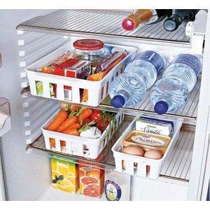 Set košíkov do chladničky, 3 ks
