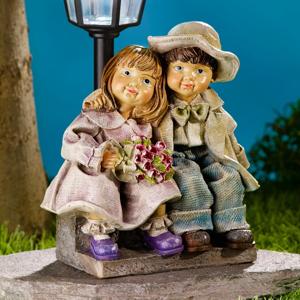 Solárna lucerna Kvetinové deti