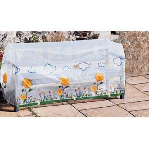 Ochranný obal na záhradnú lavičku Slnečnica