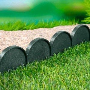 Záhradný obrubník - palisáda zelená, 10 m