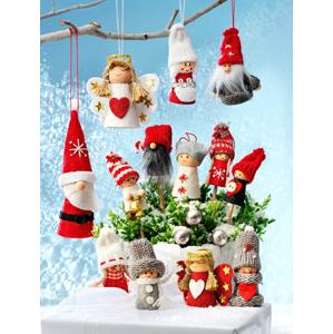 Adventný kalendár Rodina škriatkov