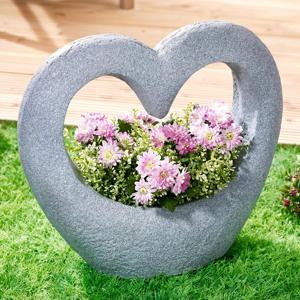 Kvetináč Kamenné srdce