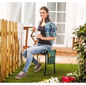 Záhradná stolička a kľakadlo