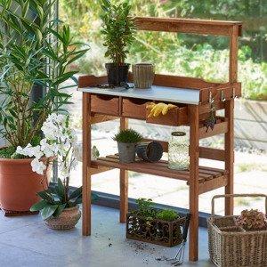 Záhradný pracovný stôl