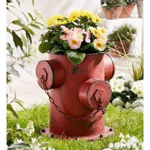 Kvetináč Hydrant kovový, 36 cm