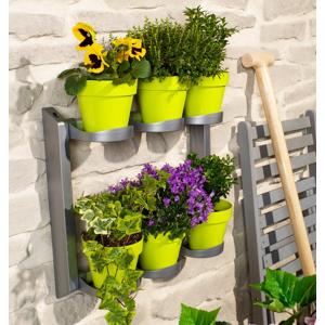 Police na kvetináče a bylinky