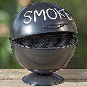 Stolný popolník Smoke, čierny