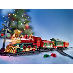 Vianočné vlak Nostalgia so svetlom a zvukmi, 47 dielov