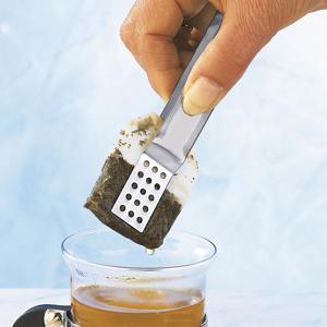 Kliešte na čajové vrecúška nerezové