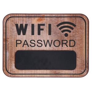 Tabuľka na heslo k WIFI