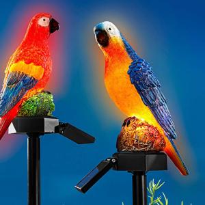 Solárny zápich Papagáj Ludvík