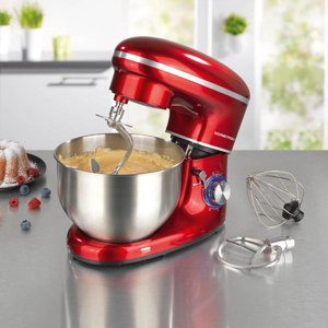Gourmetmaxx kuchynský robot 1500 W - červená