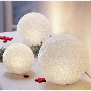 LED Guľa Frozen, 3 kusy