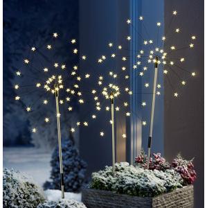 LED Zahradní zápich Estrella, 3 ks