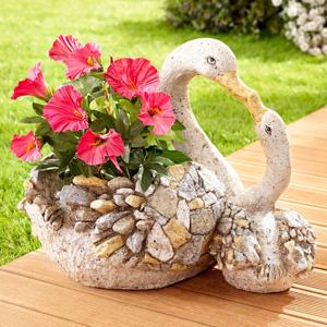 Kvetináč Labute