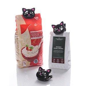 Klipy Mačka čierna, 6 ks