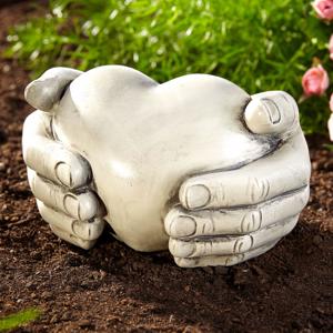 Dekorácie Srdce v dlaniach