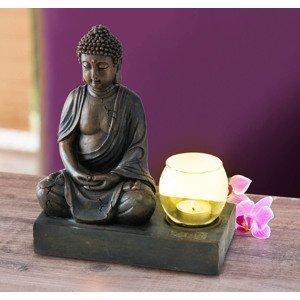 Svietnik Budha, 25 cm