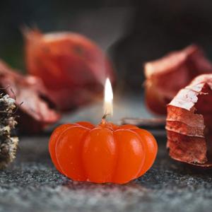 Čajové sviečky Tekvica, 2 kusy