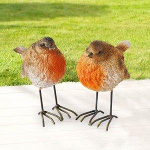 Dekorácia vtáčik Robin