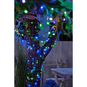 Solárna záhradná reťaz Color, 10 m