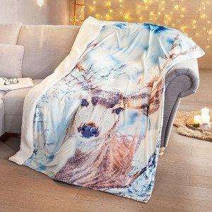 Mäkká deka Jeleň