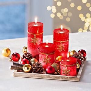Dekoračná sada so sviečkami Adventné kúzlo