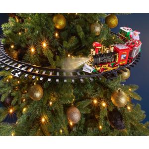 Vláčik na vianočný stromček
