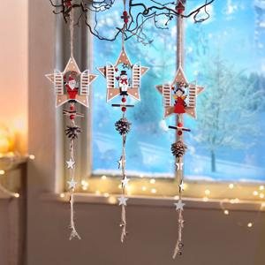 Závesná dekorácia Vianoce, súprava 3 ks