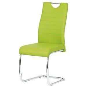 Sconto Jedálenská stolička BONNIE CAP zelená