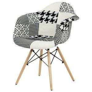 Sconto Jedálenská stolička ANGELICA patchwork