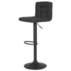 Sconto Barová stolička AMANDA I H antracitová