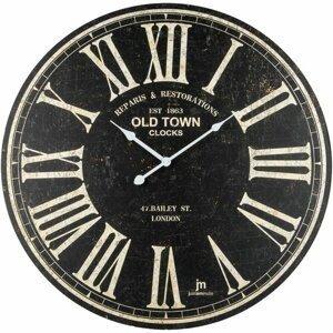 Lowell 21484 Dizajnové nástenné hodiny pr. 60 cm