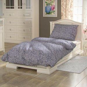 Kvalitex Bavlnené obliečky Provence Sedmokráska modrá, 140 x 200 cm, 70 x 90 cm